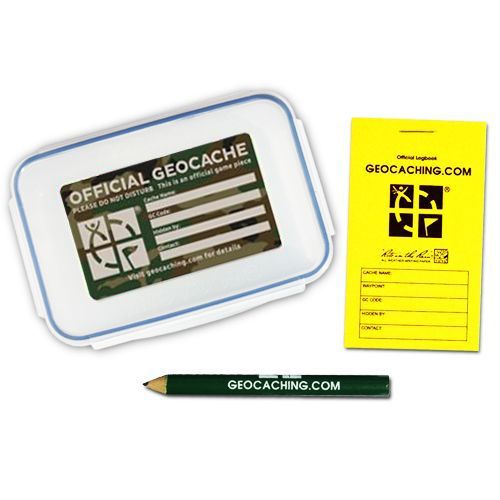 Official-Small-Geocache-with-Logbook-and-Pencil-Green-Camo
